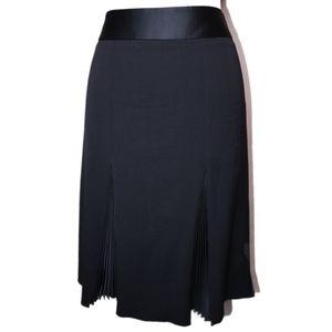 Emporio Armani Pleated Mini Skirt - Medium